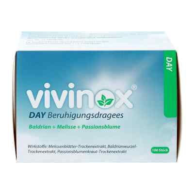 Vivinox Day Beruhigungsdragees Baldrian+Melisse+Passionsbl.  bei apotheke.at bestellen