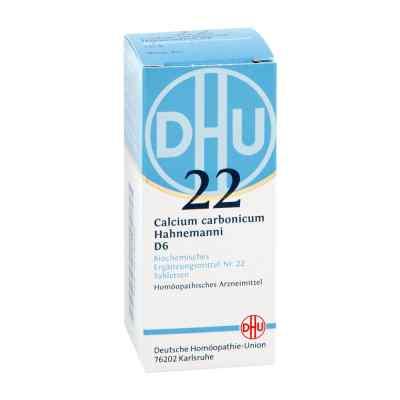 Biochemie Dhu 22 Calcium carbonicum D6 Tabletten  bei apotheke.at bestellen