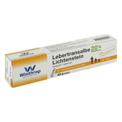 Lebertransalbe 20% Lichtenstein