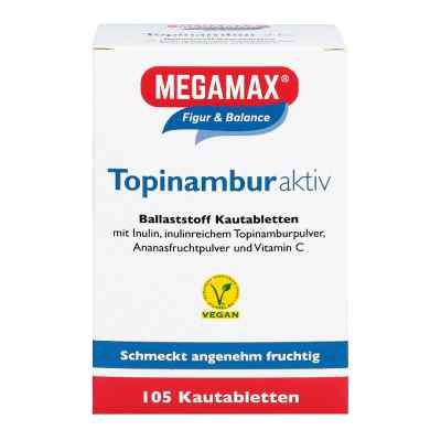Topinambur Aktiv Megamax Kautabletten  bei apotheke.at bestellen