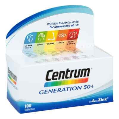 Centrum Gen.50+ A-zink+floraglo Lutein Caplette