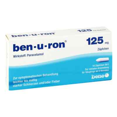 Ben-u-ron 125mg  bei apotheke.at bestellen