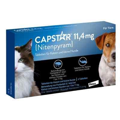 Capstar 11,4 mg für Katzen und kleine Hunde Tabletten  bei apotheke.at bestellen