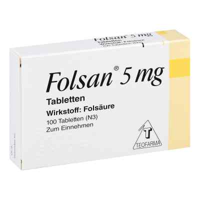 Folsan 5 mg Tabletten  bei apotheke.at bestellen