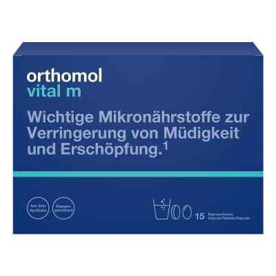 Orthomol Vital M 15 Granulat/kaps.kombipackung  bei apotheke.at bestellen