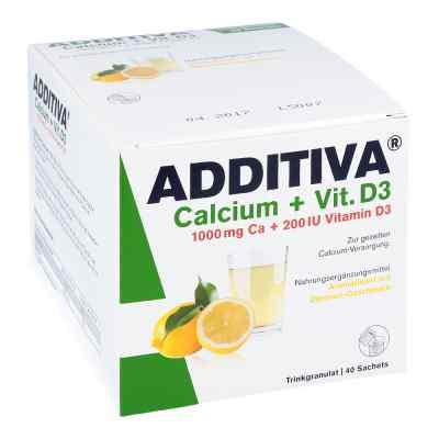 Additiva Calcium 1000 mg + Vitamine d 3 Pulver  bei apotheke.at bestellen