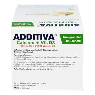 Additiva Calcium 1000 mg + Vitamine d 3 Pulver  bei apotheke.at bestellen