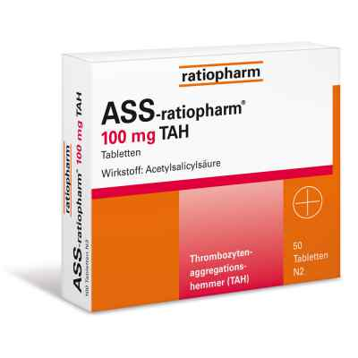 ASS-ratiopharm 100mg TAH  bei apotheke.at bestellen