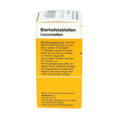 Bierhefe Tabletten Levurinetten  bei apotheke.at bestellen