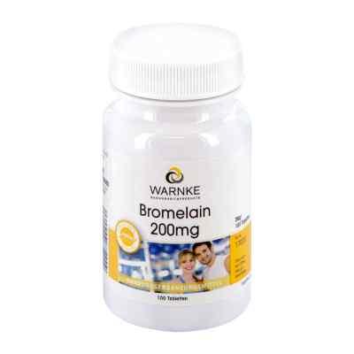 Bromelain 200 mg magensaftresistente Tabletten  bei apotheke.at bestellen