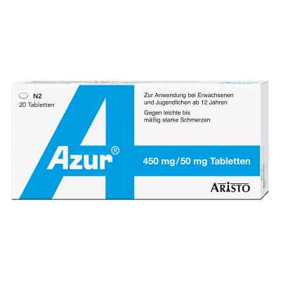 Azur 450mg Paracetamol/50mg Coffein  bei apotheke.at bestellen