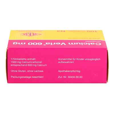 Calcium Verla 600mg  bei apotheke.at bestellen