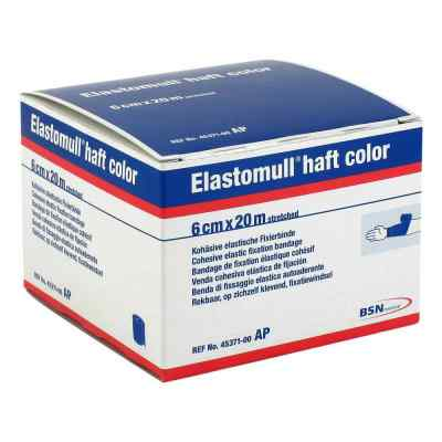 Elastomull haft color 20mx6cm blau Fixierbinde  bei apotheke.at bestellen