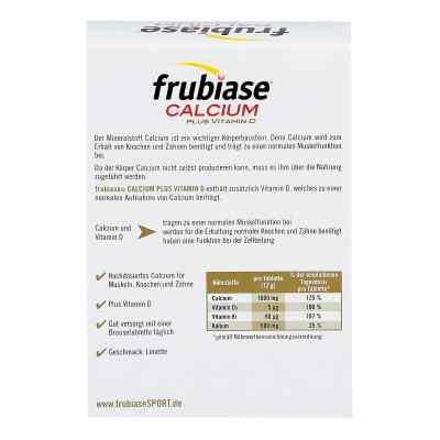 Frubiase Calcium + Vitamin D Brausetabletten