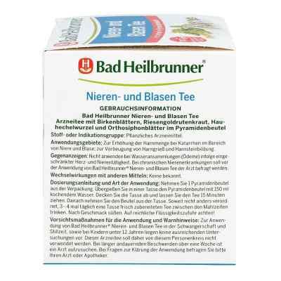 Bad Heilbrunner Nieren- und Blasen Tee  bei apotheke.at bestellen