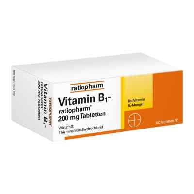 Vitamin B1 ratiopharm 200 mg Tabletten  bei apotheke.at bestellen