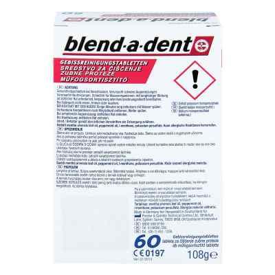 Blend A Dent Reinigungs Tabs langanhalt.Frische  bei apotheke.at bestellen