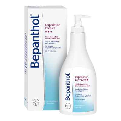 Bepanthol Intensiv Körperlotion Spenderflasche  bei apotheke.at bestellen