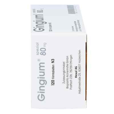 Gingium spezial 80mg  bei apotheke.at bestellen