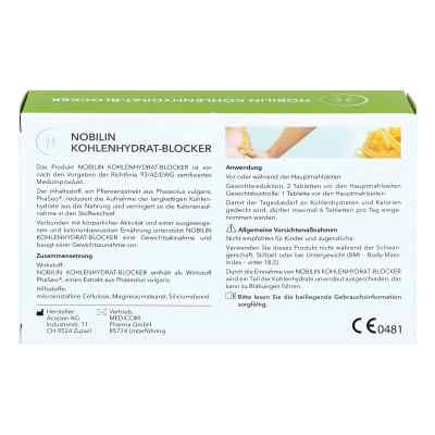 Nobilin Kohlenhydrat-blocker Tabletten  bei apotheke.at bestellen