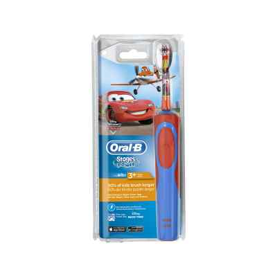 Oral-B Stages Power Kids Elektrische Zahnbürste mit Disneys Cars