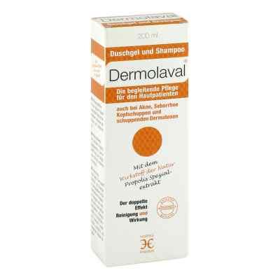 Dermolaval Duschgel+shampoo für d.Hautpatienten