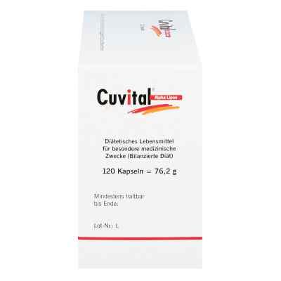 Cuvital Alpha Lipon Kapseln