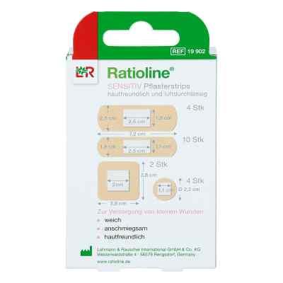 Ratioline sensitive Pflasterstrips in 4 Grössen  bei apotheke.at bestellen