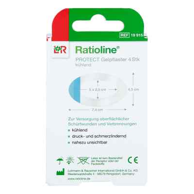 Ratioline protect Gelpflaster gross  bei apotheke.at bestellen