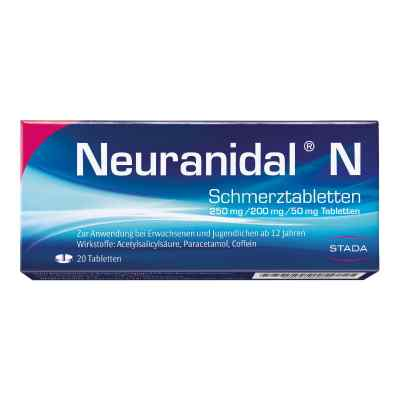 Neuranidal N Schmerztabletten  bei apotheke.at bestellen