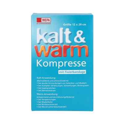 Kalt-warm Kompresse 12x29cm mit Fixierband  bei apotheke.at bestellen