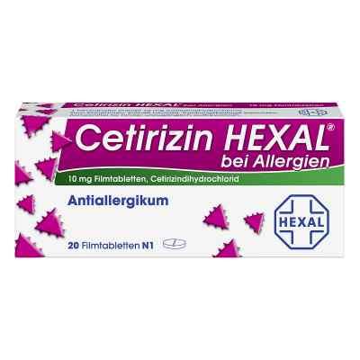 Cetirizin HEXAL bei Allergien  bei apotheke.at bestellen