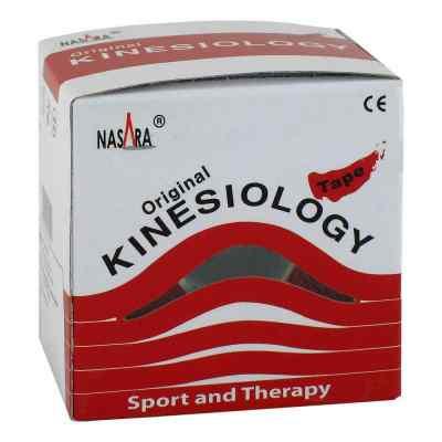 Nasara Kinesio Tape 5 cmx5 m rot inkl.Spenderbox  bei apotheke.at bestellen