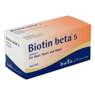 Biotin Beta 5 Tabletten  bei apotheke.at bestellen
