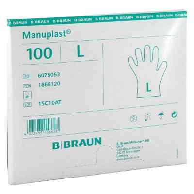 Manuplast Einmal Handschuhe gross, hell  bei apotheke.at bestellen