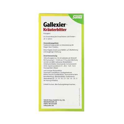 Gallexier Kräuterbitter Salus  bei apotheke.at bestellen