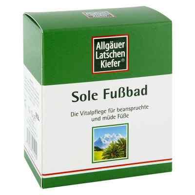 Allgäuer Latschenk. Sole Fussbad  bei apotheke.at bestellen