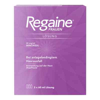 Regaine Frauen Lösung (3 Monats Packung) mit 2% Minoxidil  bei apotheke.at bestellen