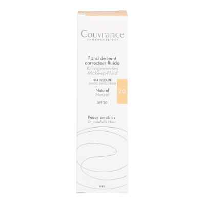 Avene Couvrance korrigier.Make up Fluid naturel