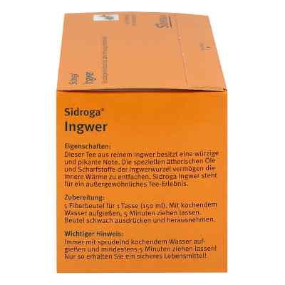 Sidroga Ingwer Tee Filterbeutel  bei apotheke.at bestellen