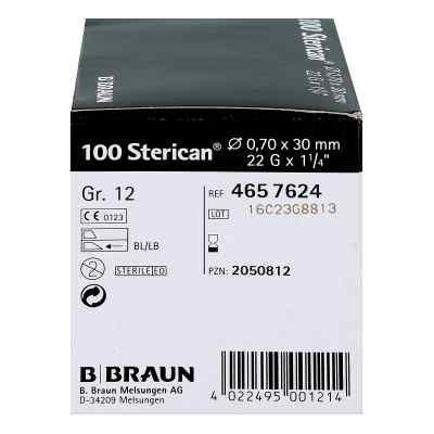 Sterican Kanüle luer-lok 0,70x30mm Größe 12  schwarz  bei apotheke.at bestellen