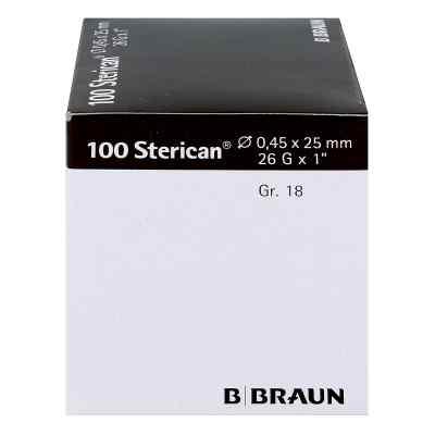 Sterican Kanüle luer-lok 0,45x25mm Größe 1 8 braun  bei apotheke.at bestellen