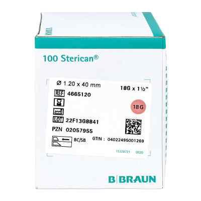 Sterican Kanülen 18gx1 1/2 1,2x40 mm