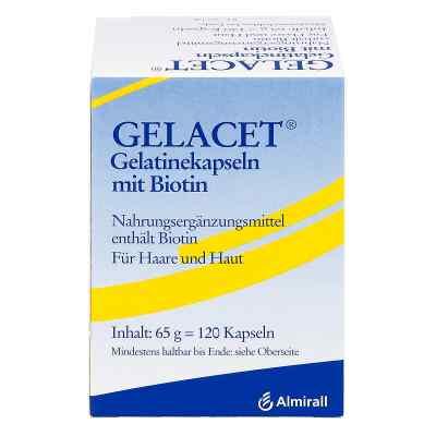 Gelacet Gelatinekapseln mit Biotin  bei apotheke.at bestellen