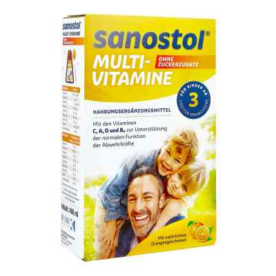 Sanostol ohne Zuckerzusatz Saft  bei apotheke.at bestellen