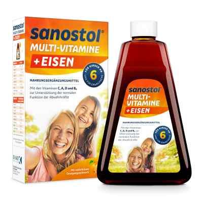 Sanostol plus Eisen Saft