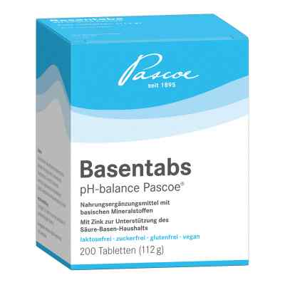Basentabs pH Balance Pascoe Tabletten  bei apotheke.at bestellen
