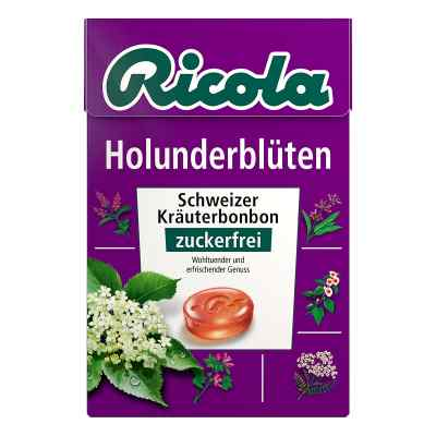 Ricola ohne Zucker  Box Holunderblüten Bonbons  bei apotheke.at bestellen
