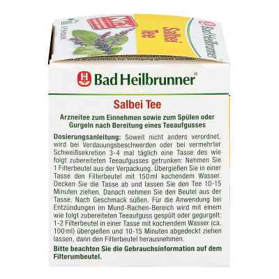 Bad Heilbrunner Tee Salbeiblätter Beutel  bei apotheke.at bestellen