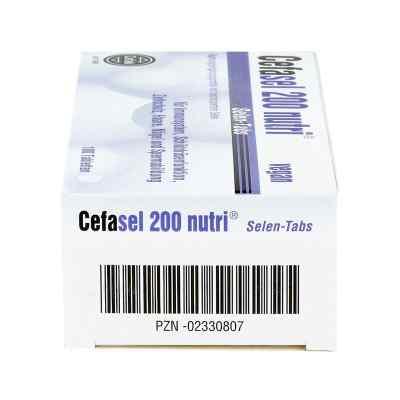 Cefasel 200 nutri Selen Tabs Tabletten